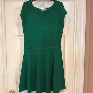 Kelly Green Eliza J knit dress